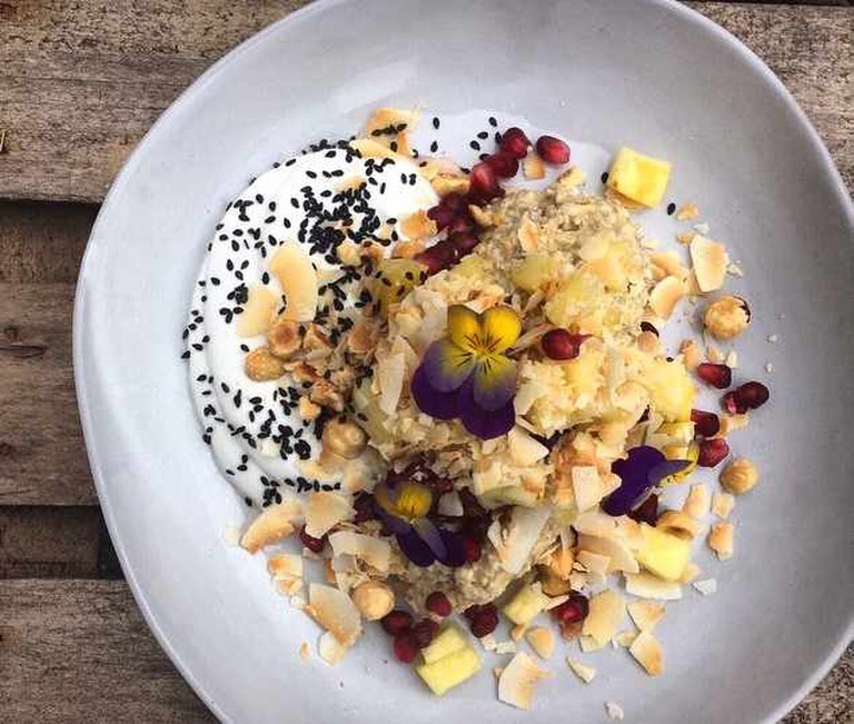 Pineapple Bircher Muesli at Balham's Flotsam and Jetsam | © Flotsam and Jetsam