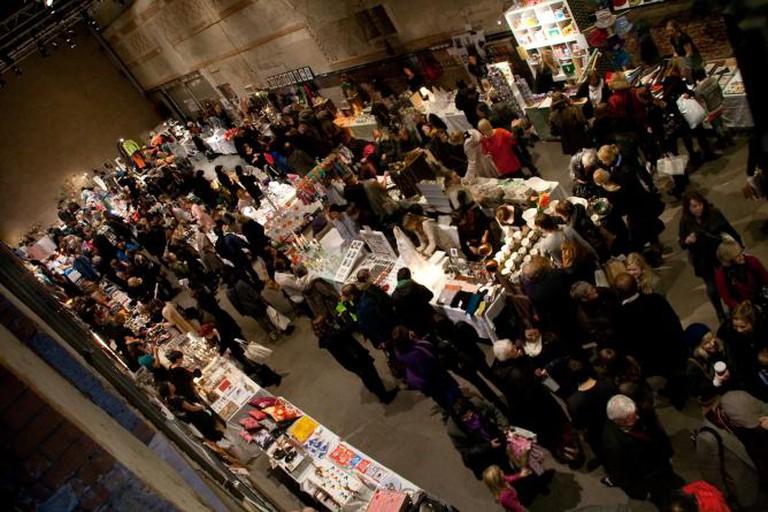 A design market at DogA © Jon Okav Eikenes/Flickr