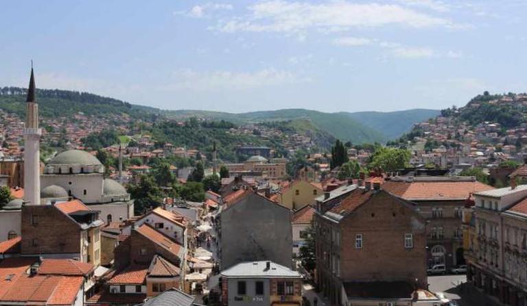 Sarajevo Old Town | Ⓒ Iain Hinchcliffe/Flickr