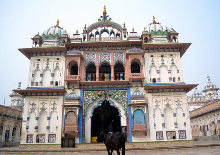 Janaki Mandir © Abhishek Singh/Flickr
