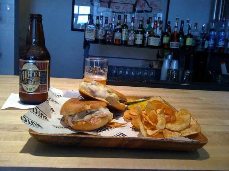 Cubano sandwich at Cochon Butcher