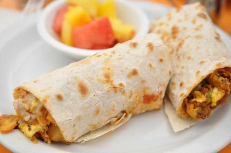 Breakfast burrito ©CurryPuffy/Flickr
