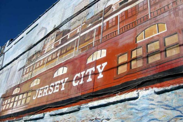 Jersey City sign