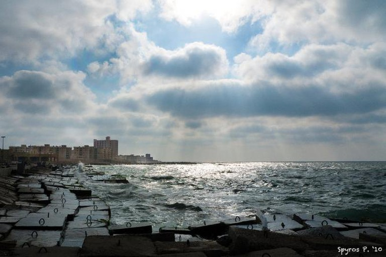 Alexandria seaside | © Spyros Petrogannis/Flickr