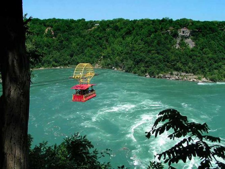 The Niagara Whirlpool Aerocar Ride | © Tango/WikiCommons