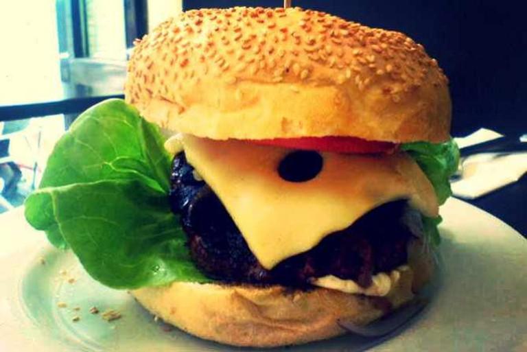 The MOS burger at Wannaburger