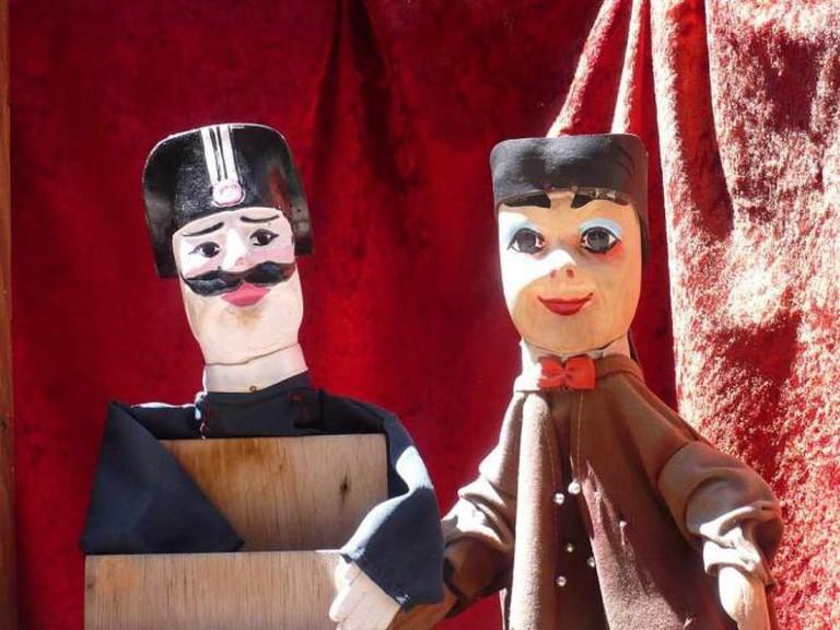Guignol Puppets | ©Tusco/WikiCommons