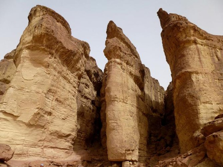 Solomon's pillars in Timna Park | © אילת לב ארי שלי/WikiCommons
