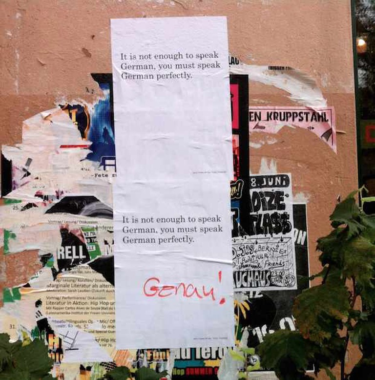 Street Poster in Berlin | © Adriana Tourny