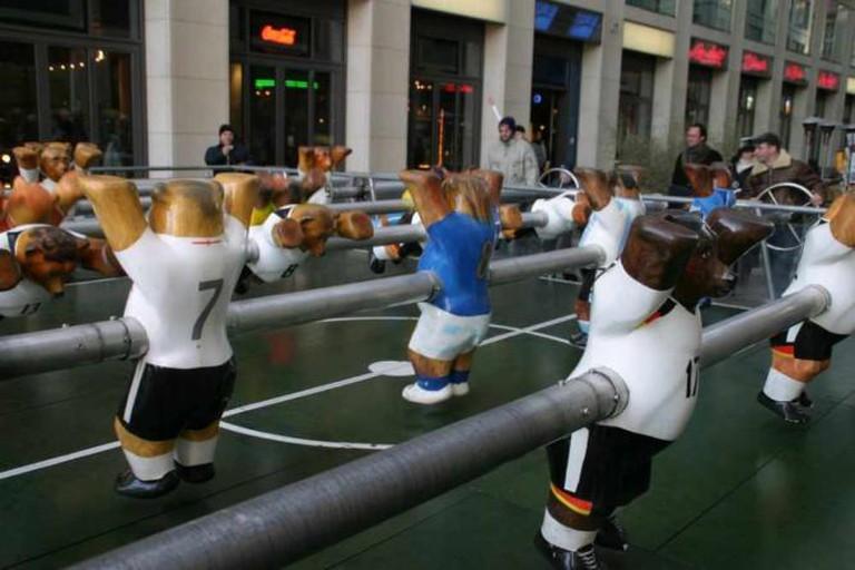 Foosball in Berlin