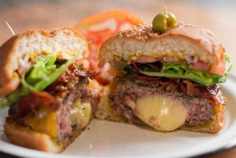 Burger | courtesy of Pig's Pearls