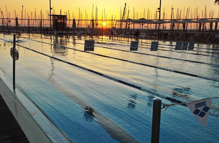 The Gordon Pool at Sunset | © The Gordon