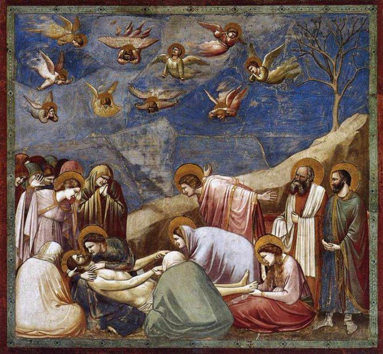 Giotto's painting in Scrovegni Chapel