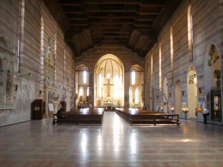 Interior of Chiesa degli Eremitani