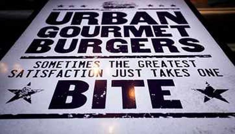 Urban Gourmet Burgers poster | Courtesy of Urban Gourmet Burgers