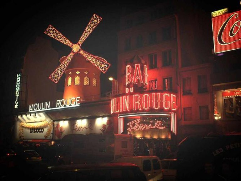 Paris, France: Le Moulin Rouge
