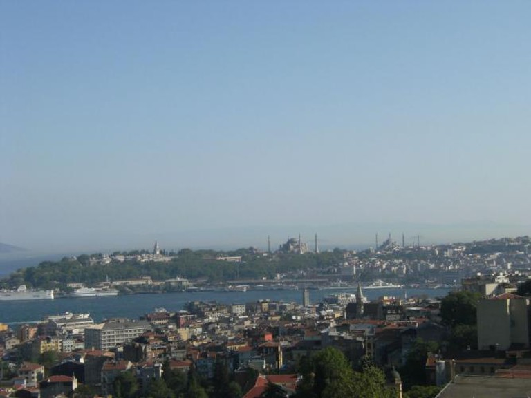 View from 360 Istanbul rooftop