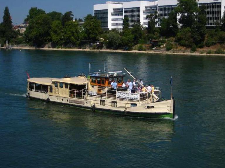Boat on the Rhine