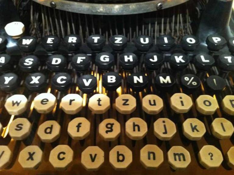 Typewriter at the Basel Paper Mill | © Nina Stössinger/Flickr