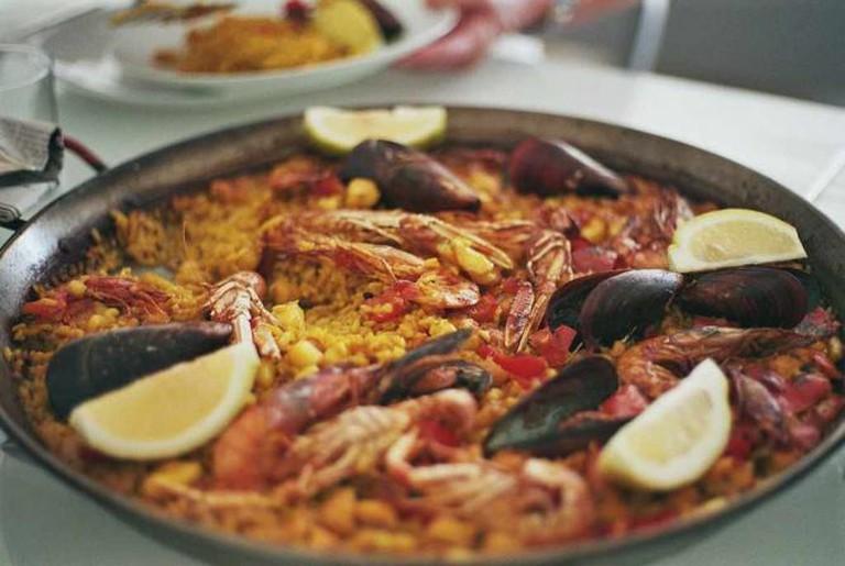 Seafood paella | © Urska Berdnik/Flickr