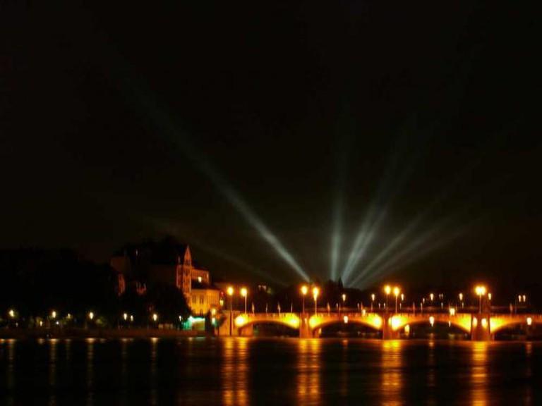 Basel at night | © Patrick Tschudin/Flickr