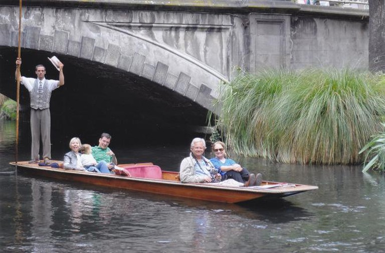 Punting in Christchurch, New Zealand | © Bruce Tuten/Flickr