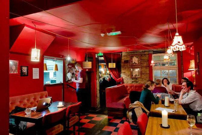 The eclectic interior of Jam Circus