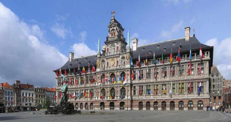 Stadhuis van Antwerpen © Klaus with K/WikiCommons