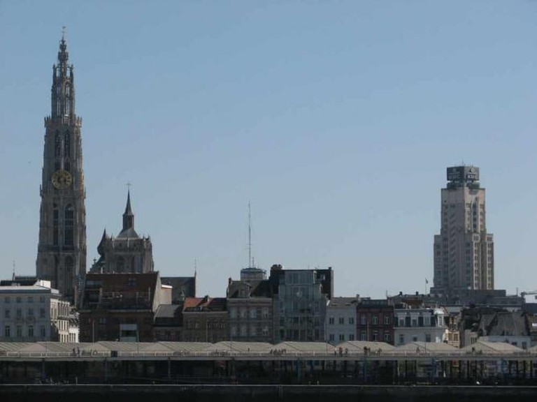 The Antwerp skyline © Stipo team for urban development/Flickr