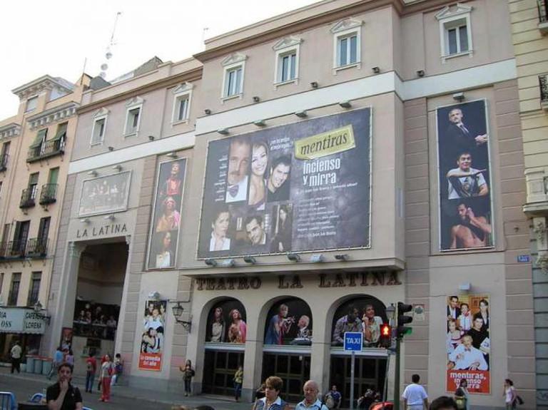 Teatro La Latina | © Museo8bits/WikiCommons