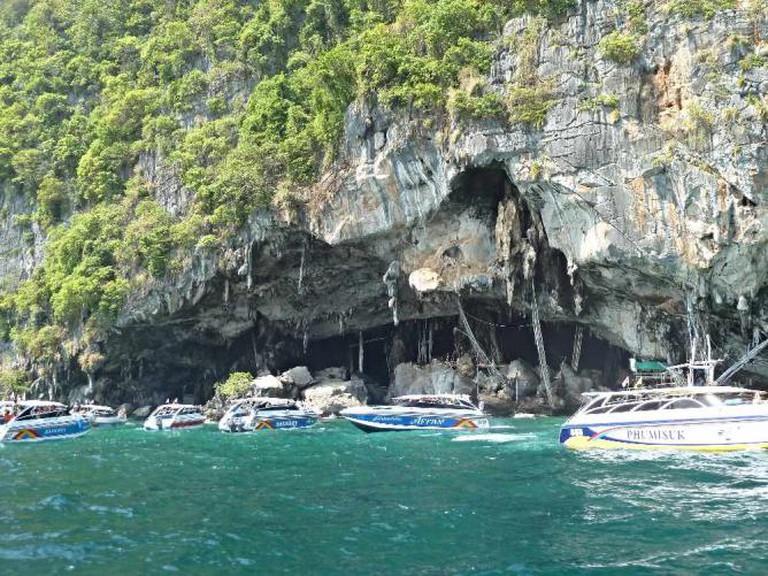 Boats at Viking Cave I