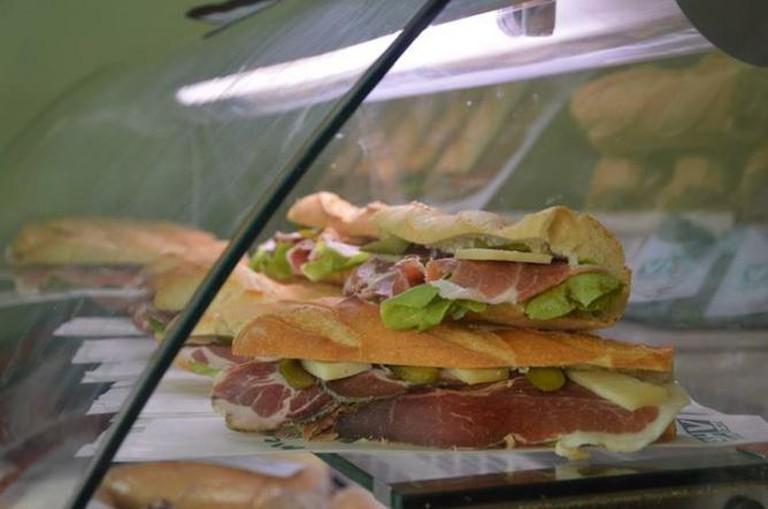 Sandwiches | Courtesy of Bar de la Haute Ville