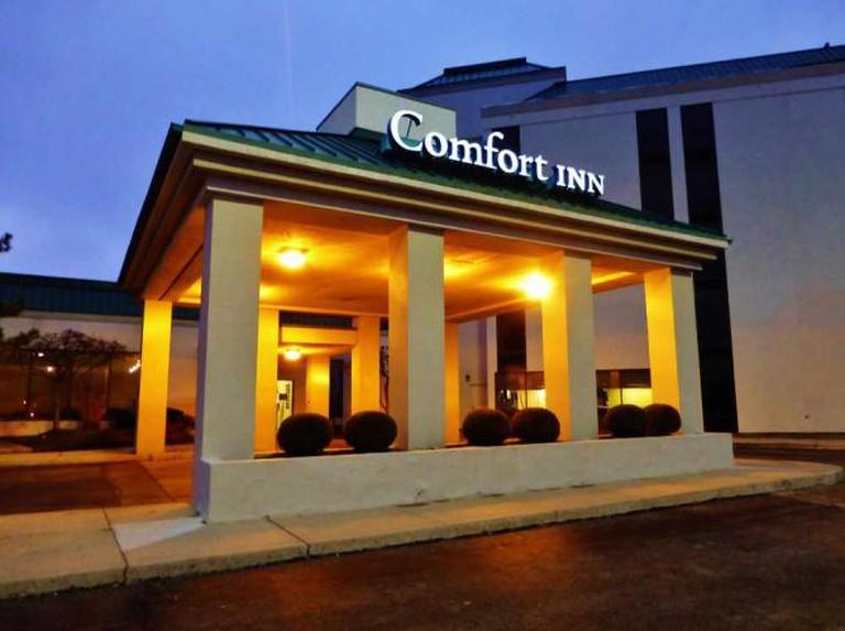 Comfort Inn at Miami Valley Centre Mall | © Nicholas Eckhart