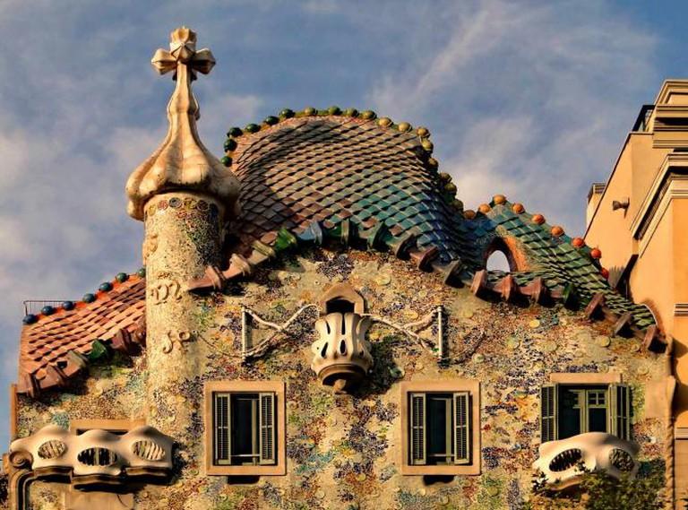 Casa Batlló by Antoni Gaudí | © Bernard Gagnon/Wikipedia