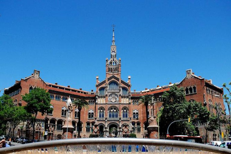 Hospital de la Santa Creu i Sant Pau in Barcelona | © Paul Hermans/WikiCommons