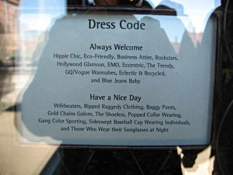 Armsby Abbey's hippie Chic dress code
