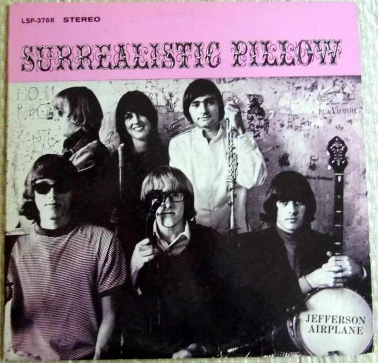 Surrealistic Pillow | © Joe Haupt Vintage Record Collection