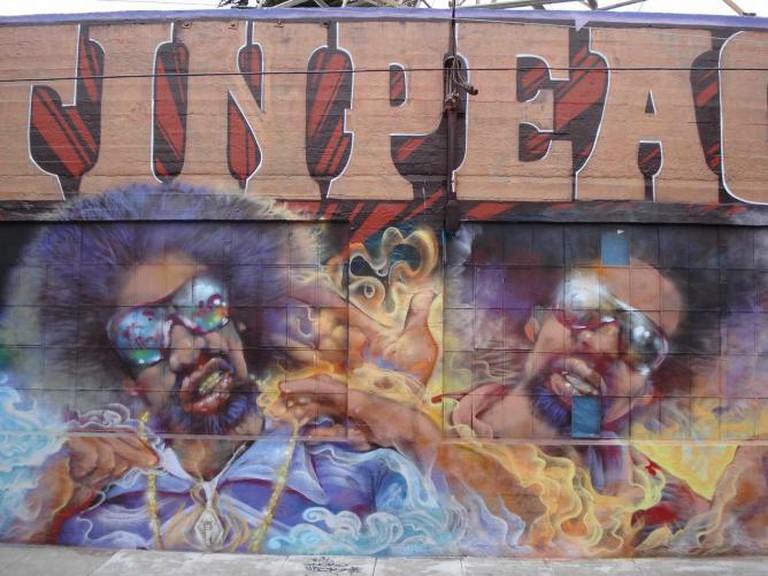 Mac Dre Rip Hyde San Francisco Graffiti Art | © A Syn