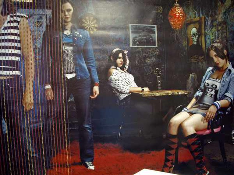 The Donnas Poster   © Gearhead Records Shoot