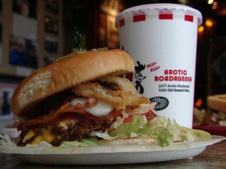 Lord Baranof burger   © Sarah Marriage/Flickr