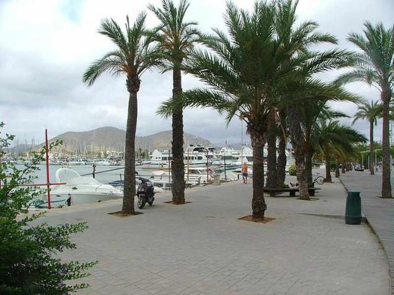 Alcudia Port © Kufoleto/WikiCommons