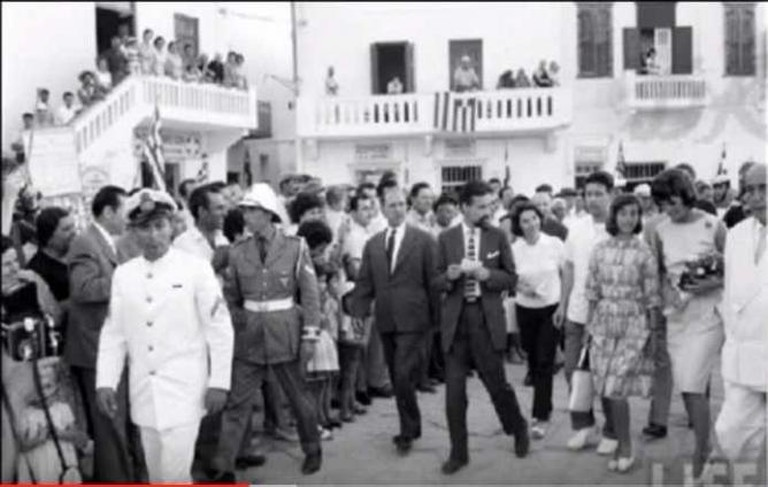 Jackie Kennedy in Mykonos