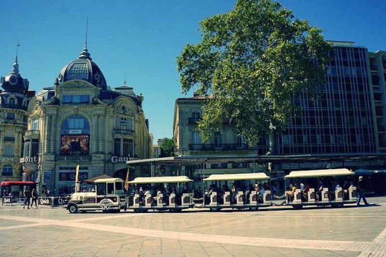 Montpellier Tourist Train | © Jeanaux/Flickr