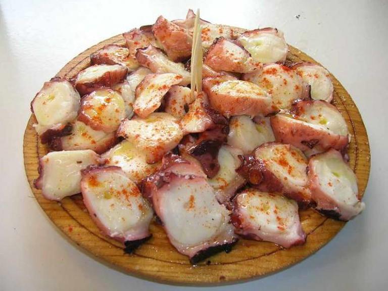 Galician octopus © Freecat/Flickr