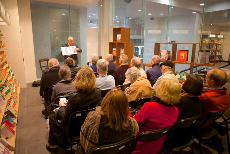 John Payne event at Reader's Feast   © Peter Johnson/Flickr