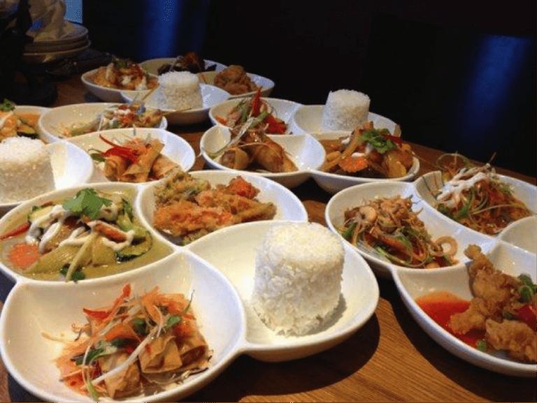 Nadon Thai lunch tapas set