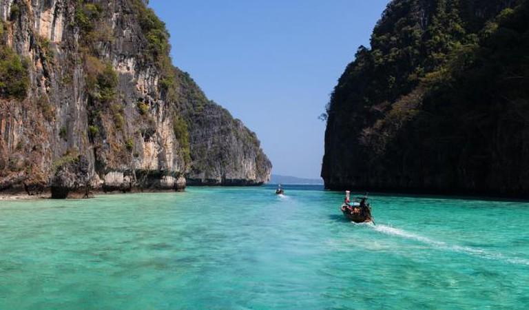 Cliffs in Koh-Phi Phi I