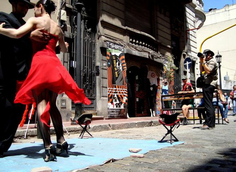 Buenos Aires street tango I