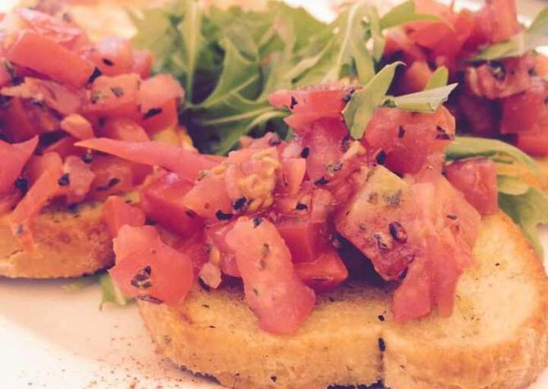 Bruschetta at The Rustic Olive | Len Matthews/Flickr