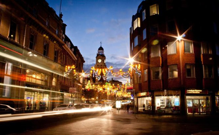 Leicester at night | © Holly Victoria Norval/Flickr